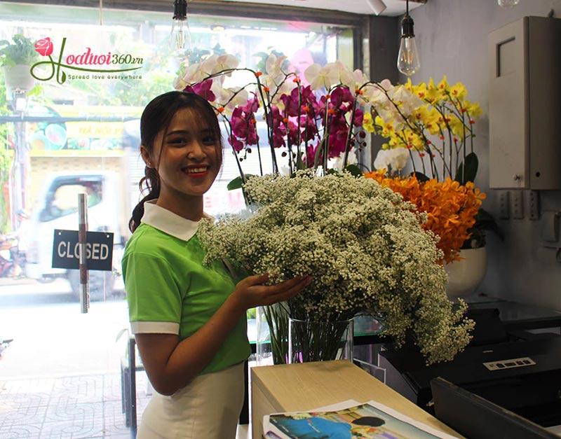 Vòng hoa tang giá rẻ 17